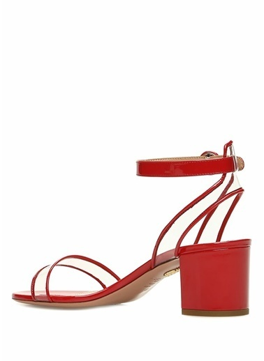 Aquazzura Ayakkabı Kırmızı